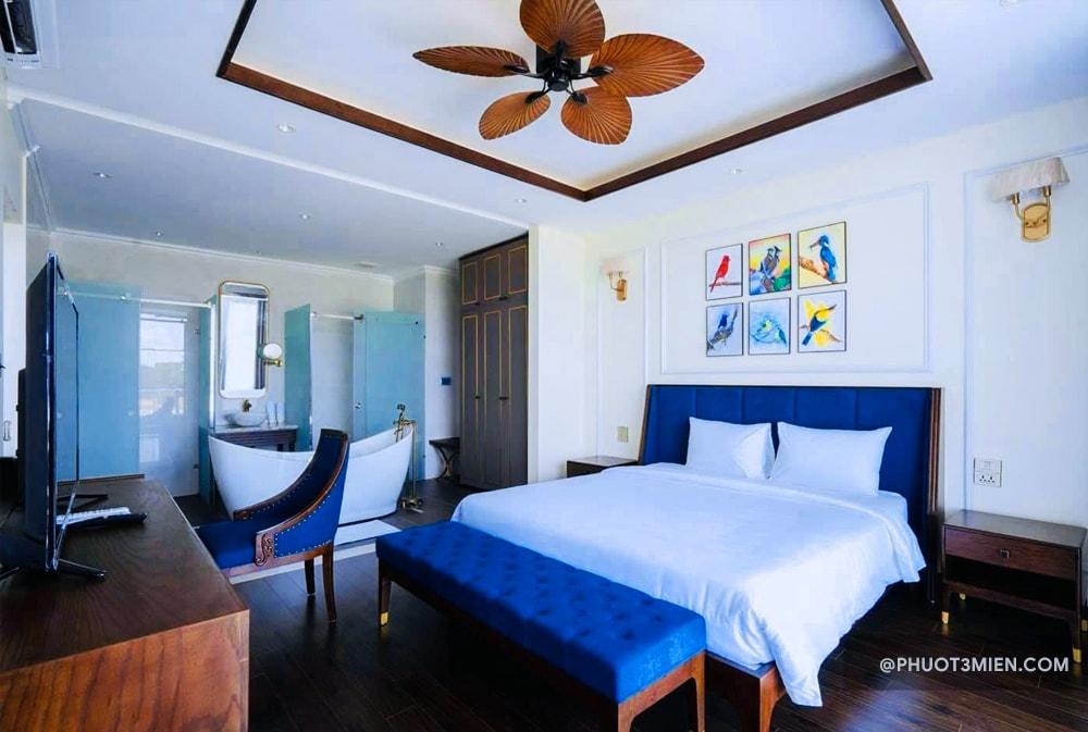 Phòng ngủ tại Villa