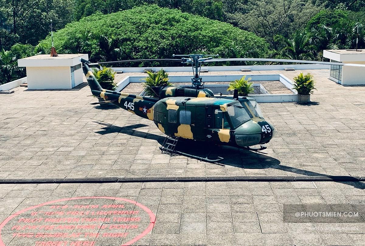 trực thăng uh1 của tổng thống