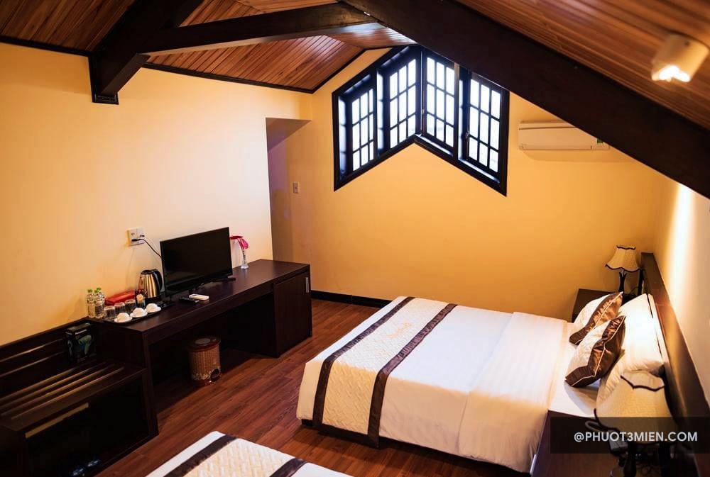 Phòng ngủ Spring Garden Villa Huế
