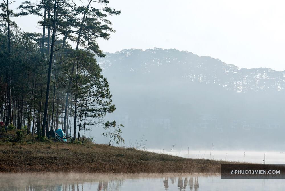 Chụp ảnh nghệ thuật ở Hồ Tuyền Lâm