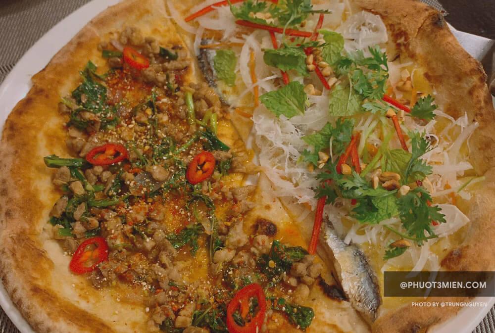 pizza cá trích