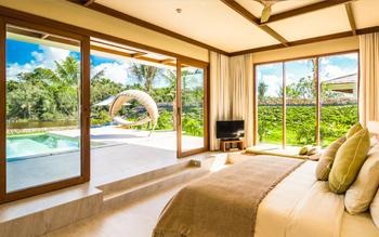 Villa Hướng Sông Một Phòng Ngủ Hồ Bơi Riêng