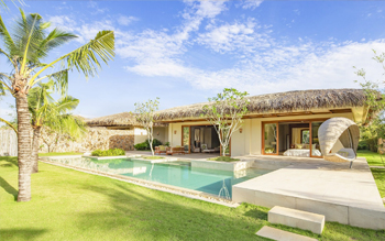 Villa Hướng Sông Hai Phòng Ngủ Hồ Bơi Riêng