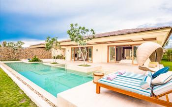 Villa Hướng Sông Ba Phòng Ngủ Hồ Bơi Riêng
